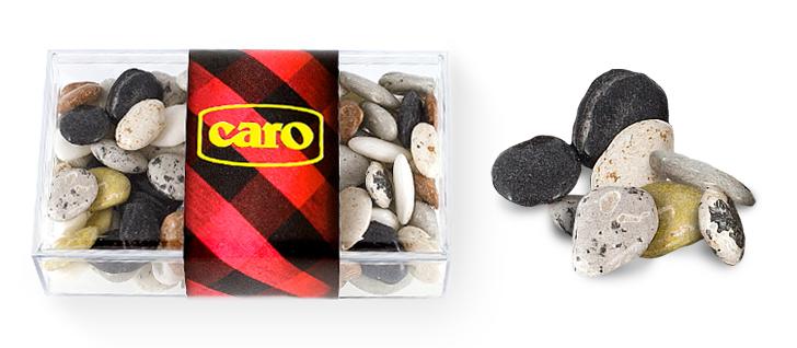 Caro - Pastillaje caramelo - Piedras de Río